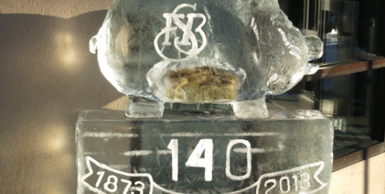 FSB-PR-Piggy Bank Ice Sculpture