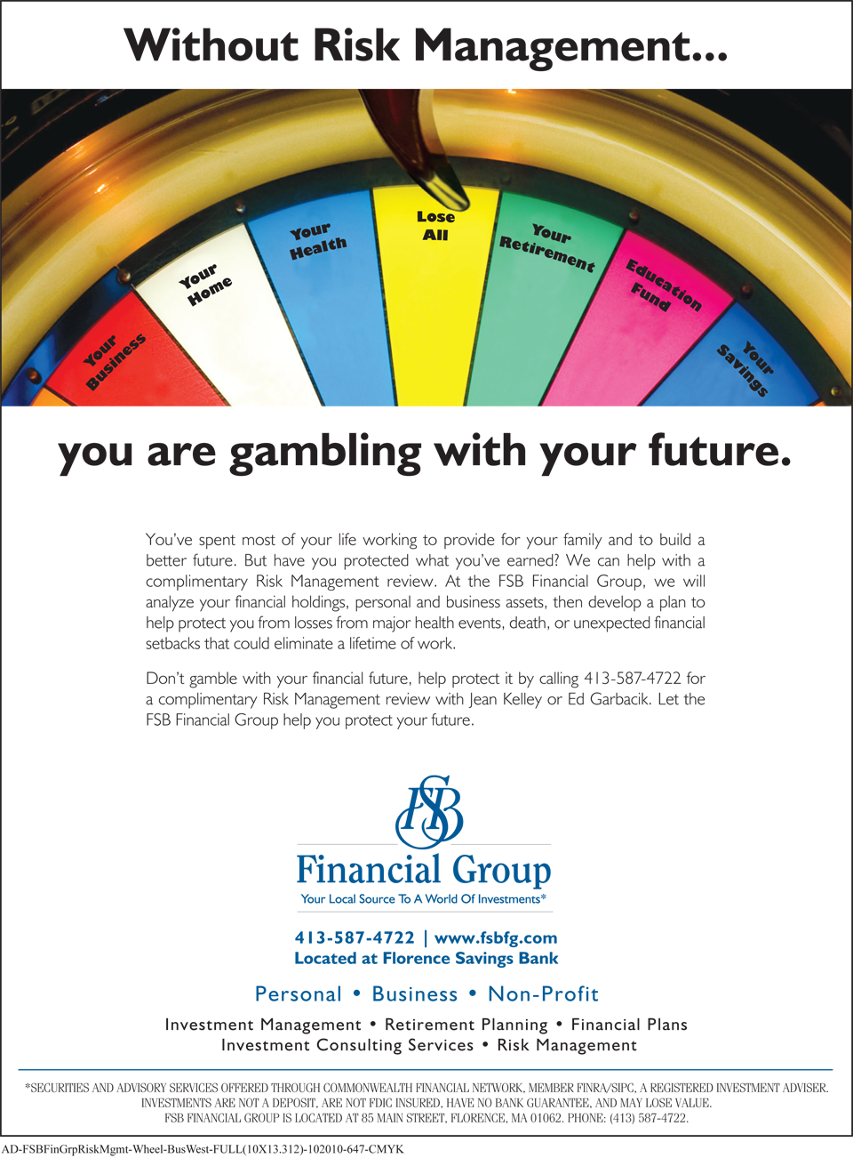 FSBFG-AD_You are gambling...