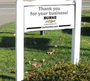 Burke Chevy-SIGN_Welcome
