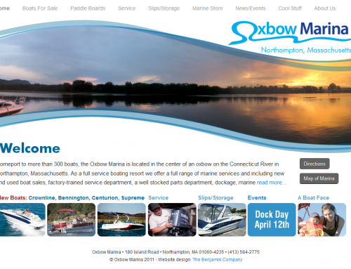 Oxbow Marina  WEBSITE: Home Page-Sunset