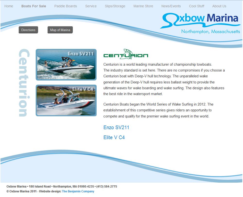Oxbow Marina-Centurion Boats