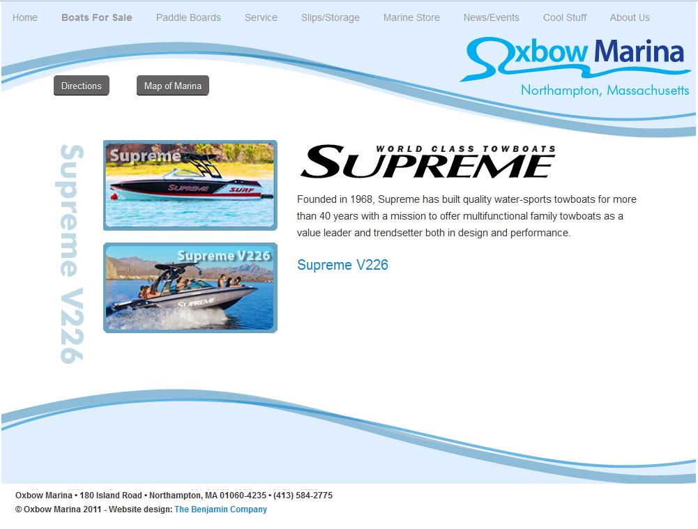 Oxbow Marina-Supreme Boats