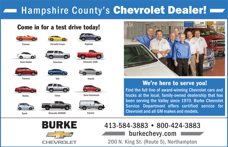 Chevy Dealers In Ma >> Burke Chevy-ADs Archives - The Benjamin Company