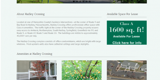 Hadley Crossing-Website
