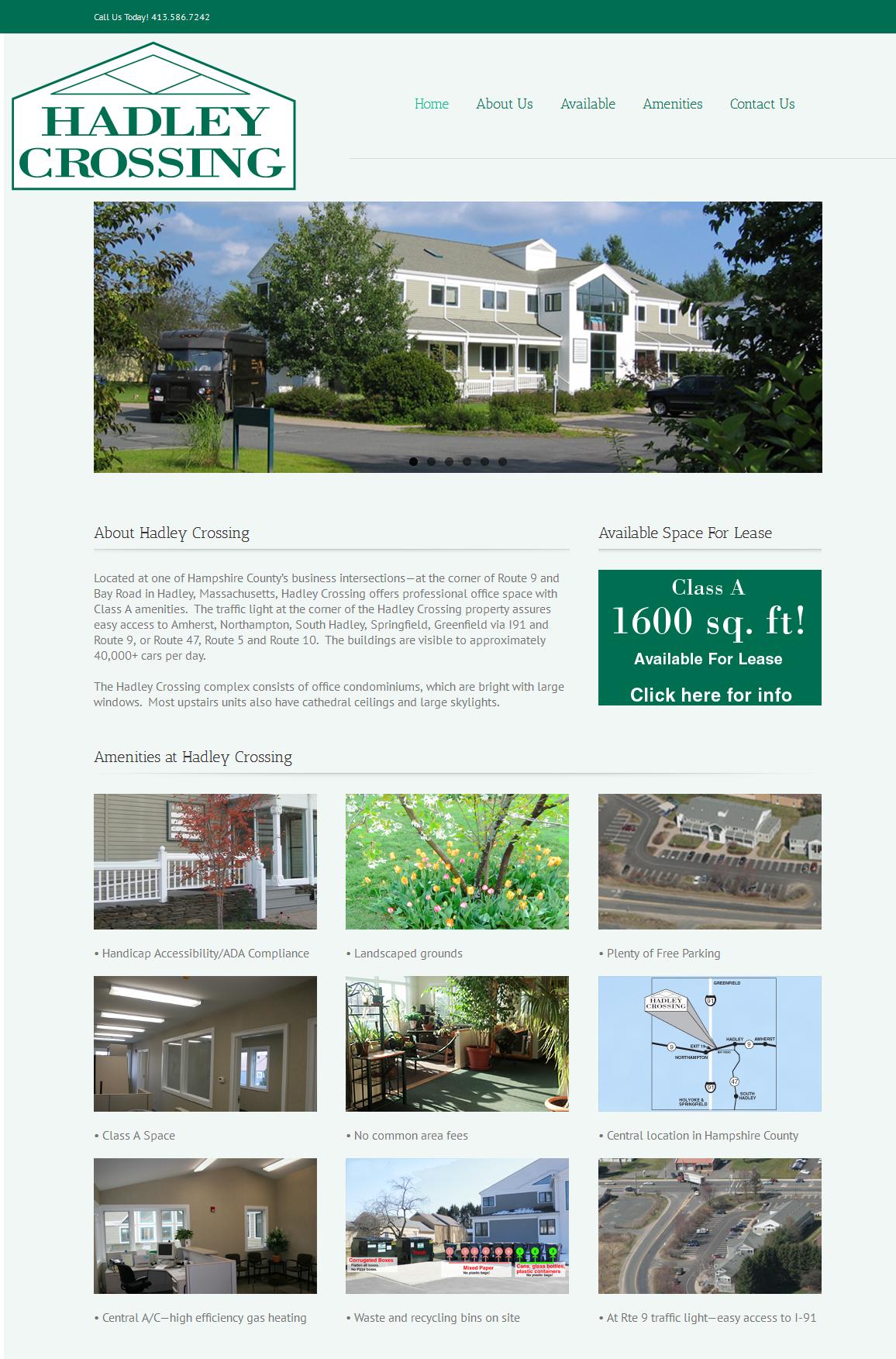 Hadley Crossing-Website
