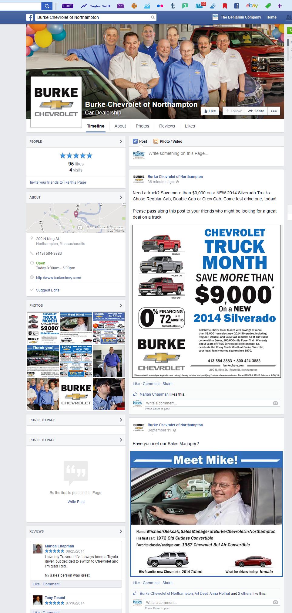 Burke-Facebook Page