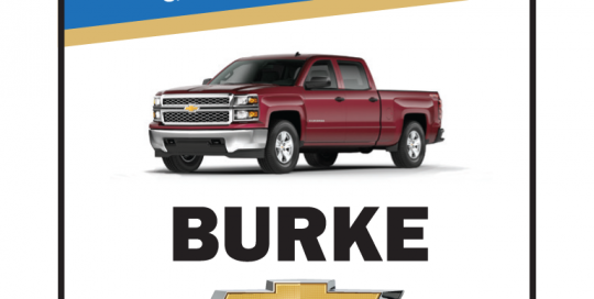 Burke Ad - New Cars...