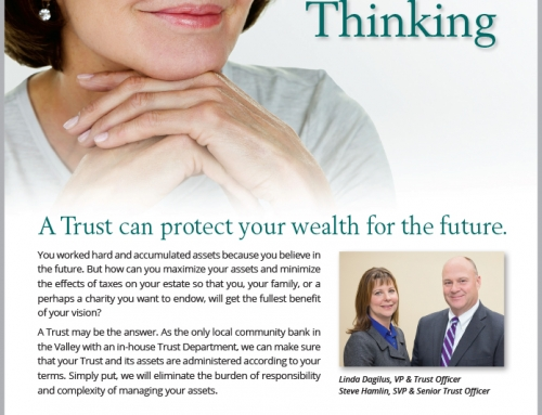 GSB Trust Fund Advertising Forward Thinking